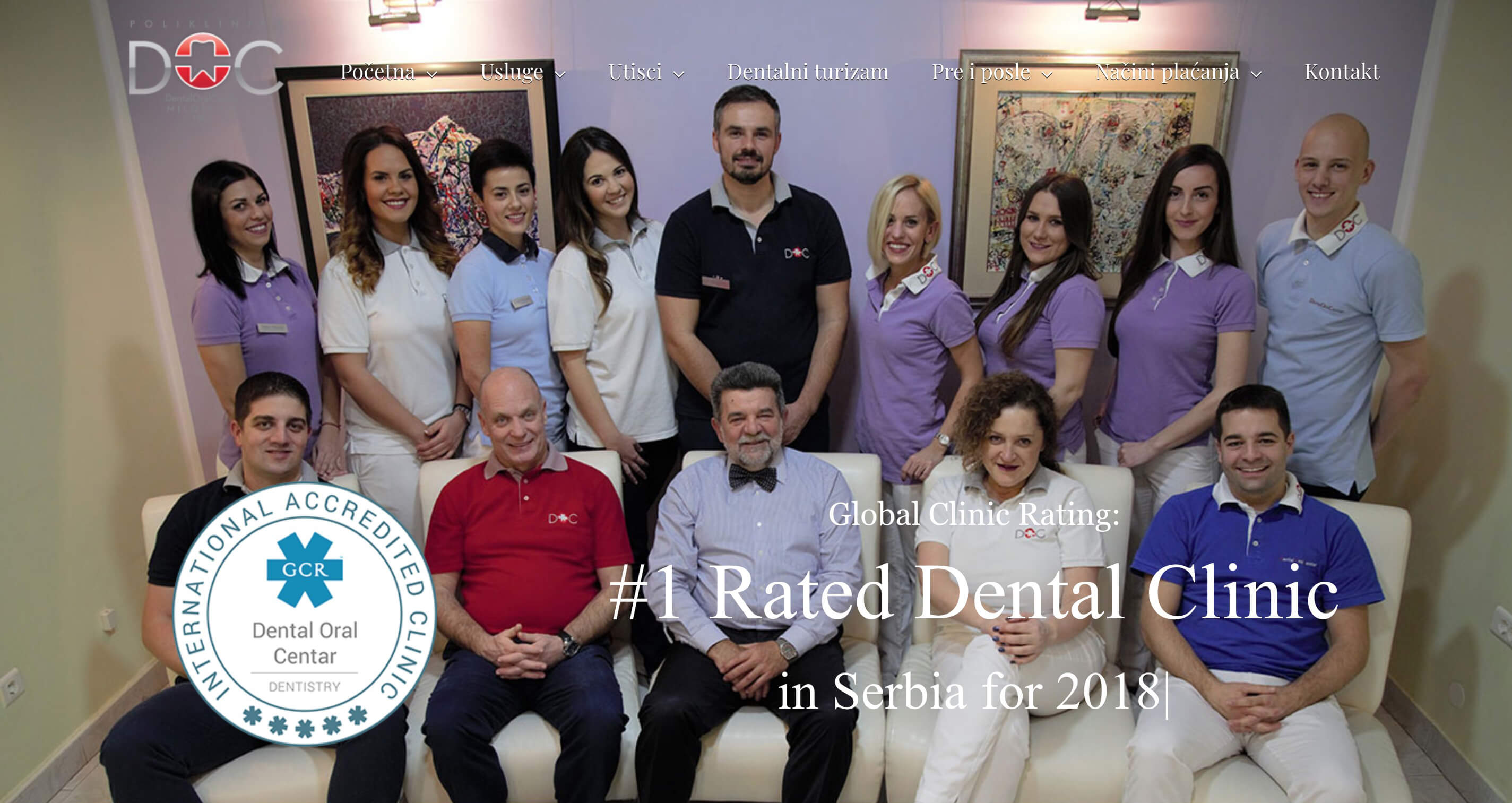 trick web studio dental oral centar web sajt za stomatolosku ordinaciju