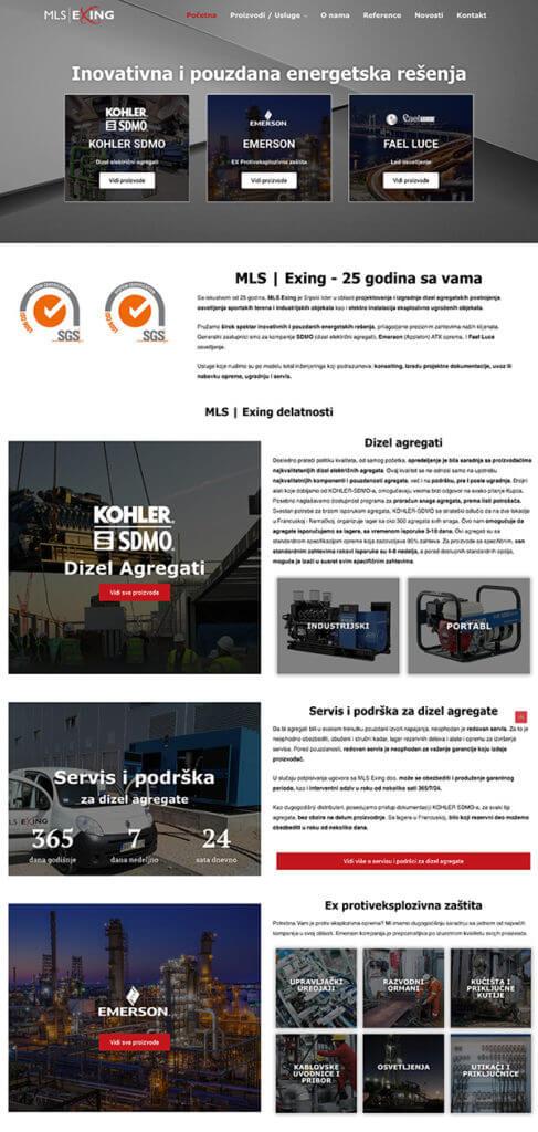 web sajt sa naprednim filtriranjem proizvoda mls-exing-portfolio